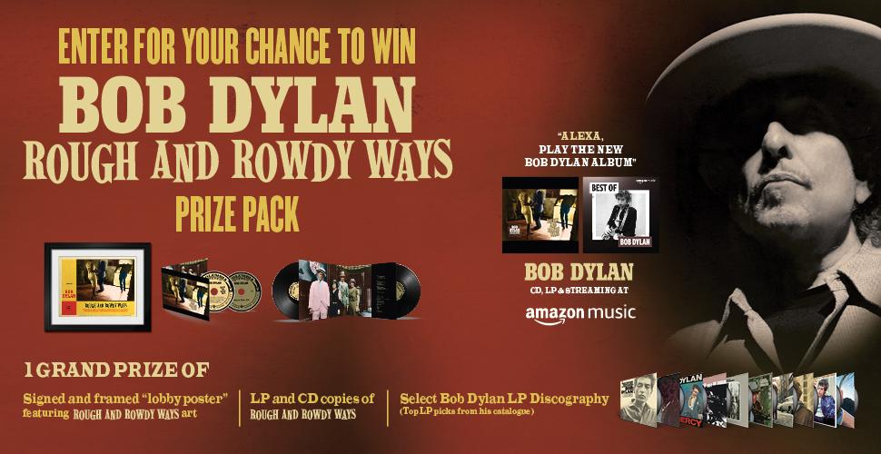 Chance de gagner le pack de prix Bob Dylan
