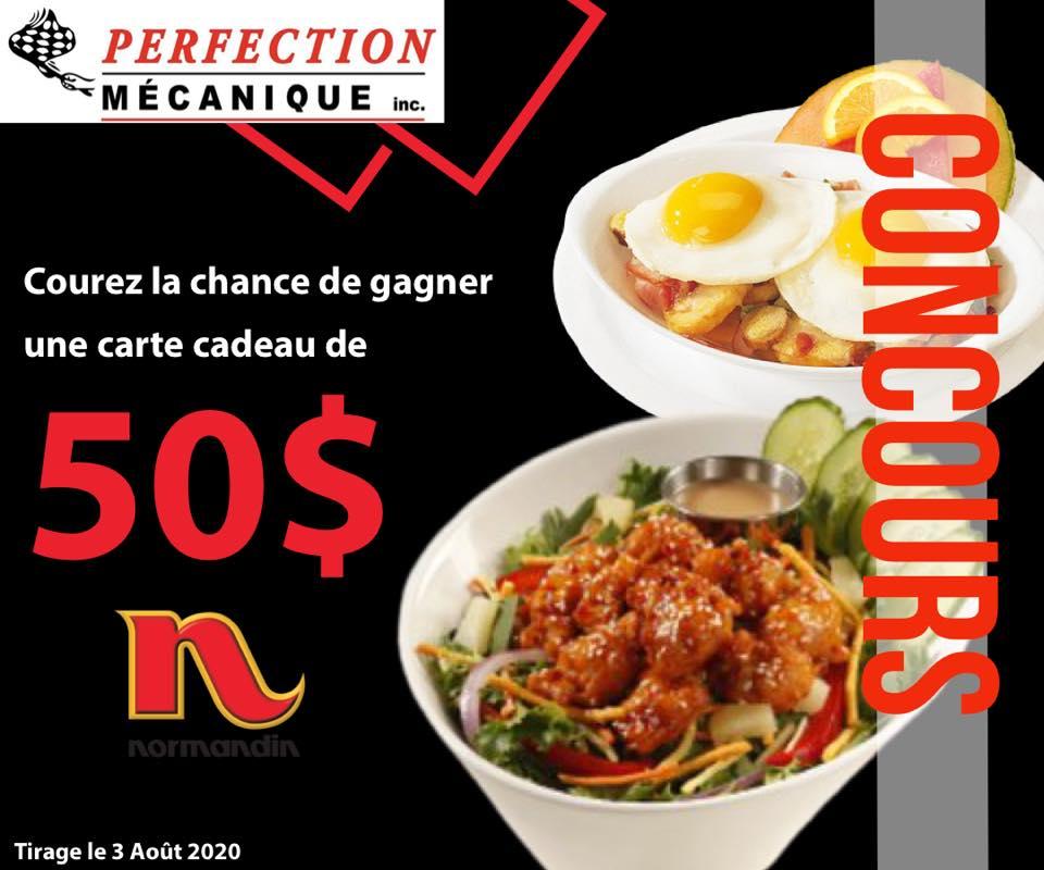 Gagnez Une Carte 50$ Normandin