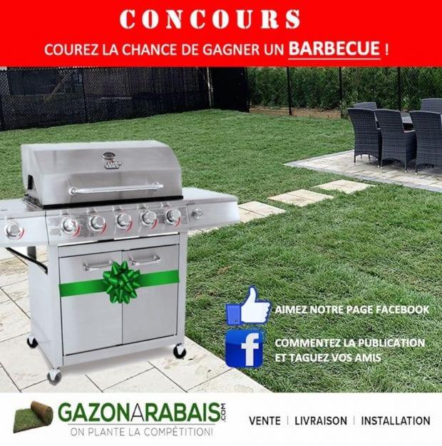 Concours Québec – Barbecue Livré Directement Chez Vous