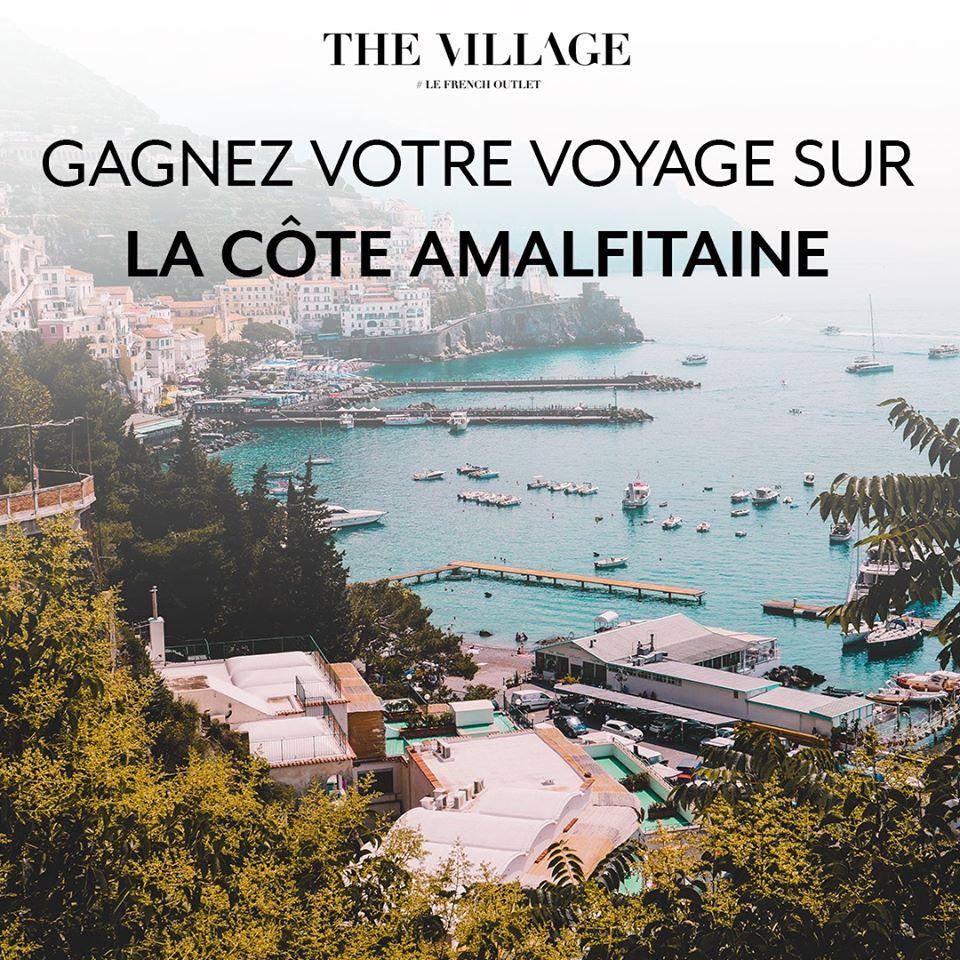 Gagnez Un Voyage Pour Deux Sur La Côte Amalfitaine