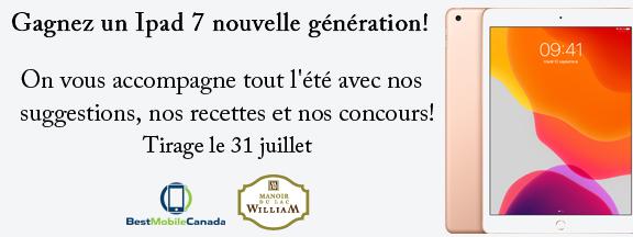 Concours Québec – Gagnez un Ipad 7 nouvelle génération