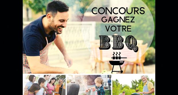 Chance De Remporter Un BBQ D'une Valeur De 1000$