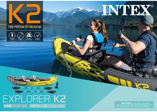 Concours Québec - Kayak Intex Explorer Pour 2 Personnes