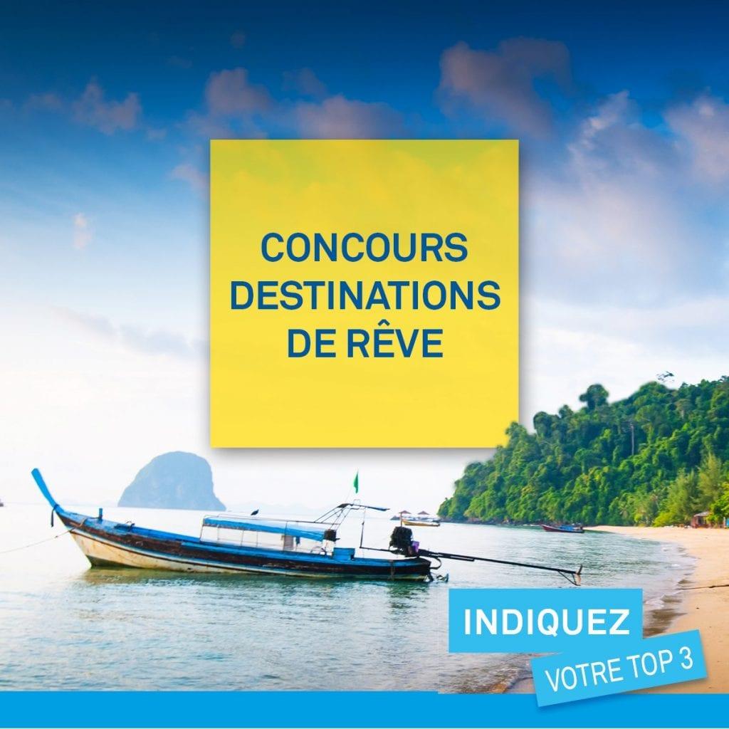 Gagne un crédit voyage grâce à CAA-Québec