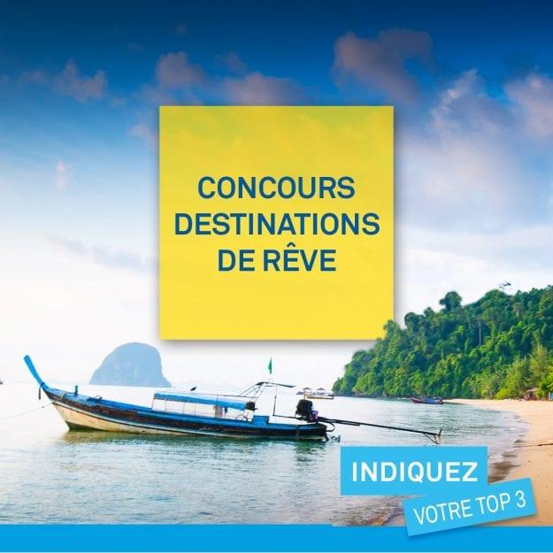 Concours Québec – Gagne un crédit voyage grâce à CAA-Québec