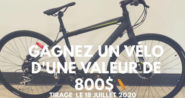 Gagnez un Vélo de 800$