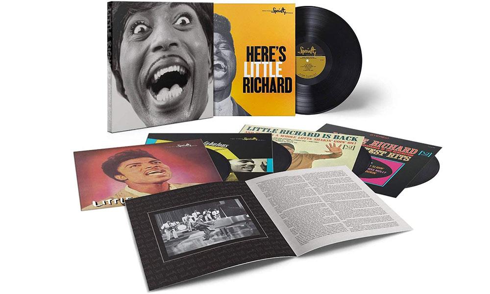 """1 coffret vinyle """"Little Richard Mono Box"""" avec 1 t-shirt"""