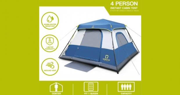 Concours Québec – Tente Camping Pour 4 Personnes À Gagner