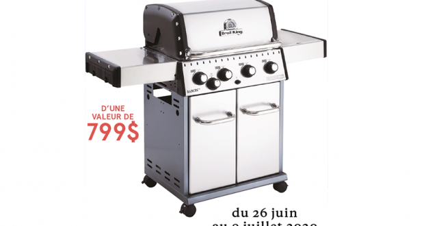 Gagnez Un barbecue Broil King