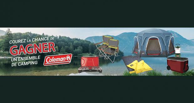 Concours Québec – Un ensemble de camping Coleman