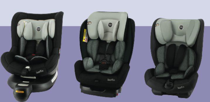 3 Sièges Auto Formula Baby