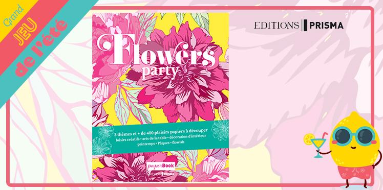 Remporter L'un Des 10 Paperbooks Flowers Party