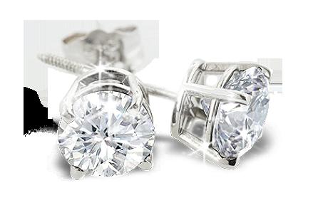 Gagnez Des Boucles D'oreilles En Diamants