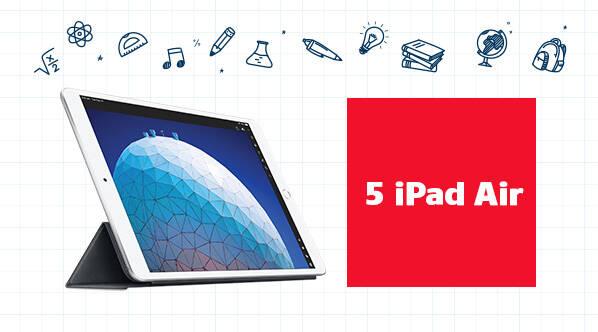 5 Ipad Air De 10.5 Po 256go Et 5 Étuis Protecteurs