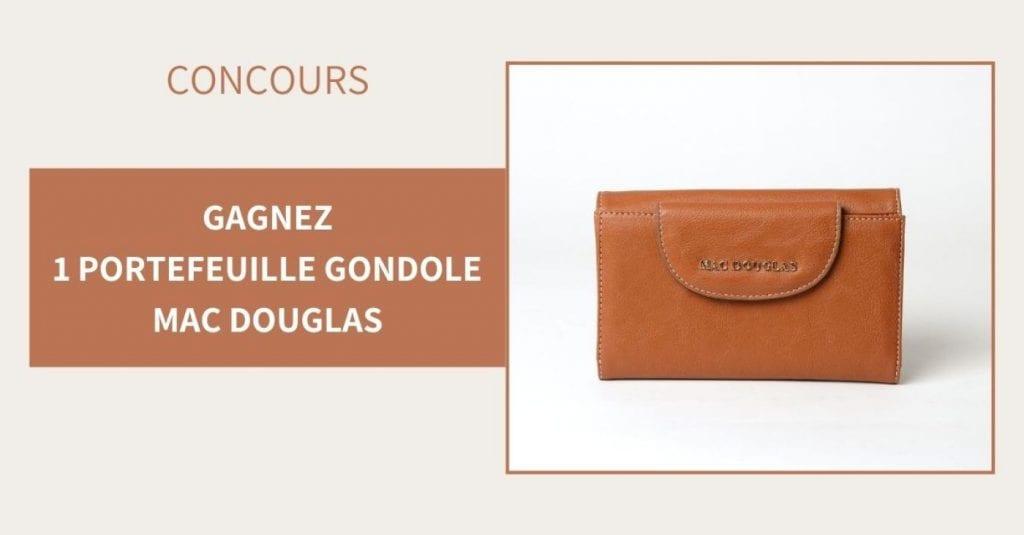 Gagnez 5 portefeuilles Mac Douglas