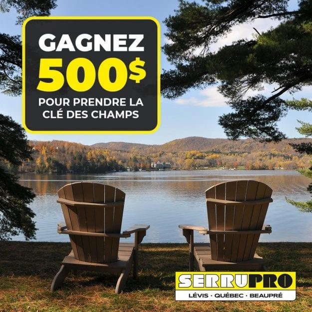 Concours Québec – Carte de crédit pré-payée de 500$