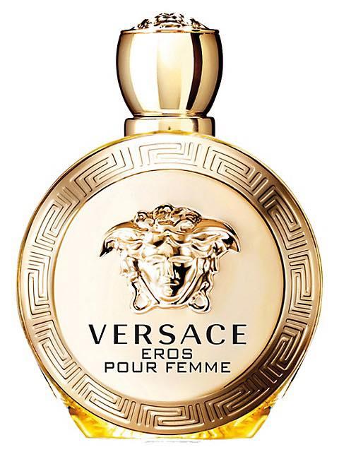 Une Bouteille De Parfum Versace Eros Pour Femme 100ml
