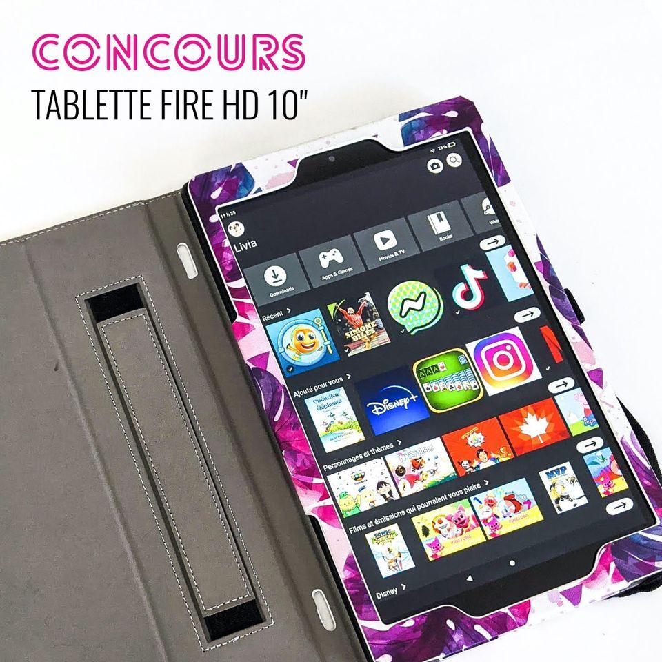Chance De Gagner La Nouvelle Tablette Fire HD 10