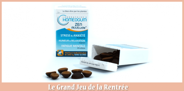 Concours France – 35 Cures Anti-stress Homeogum