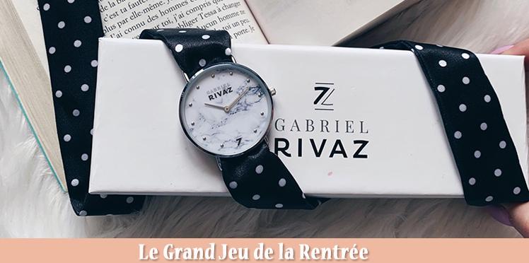 20 Montres Gabriel Rivaz À Gagner