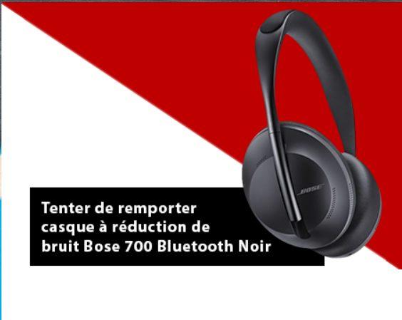 1 casque audio haut de gamme Bose