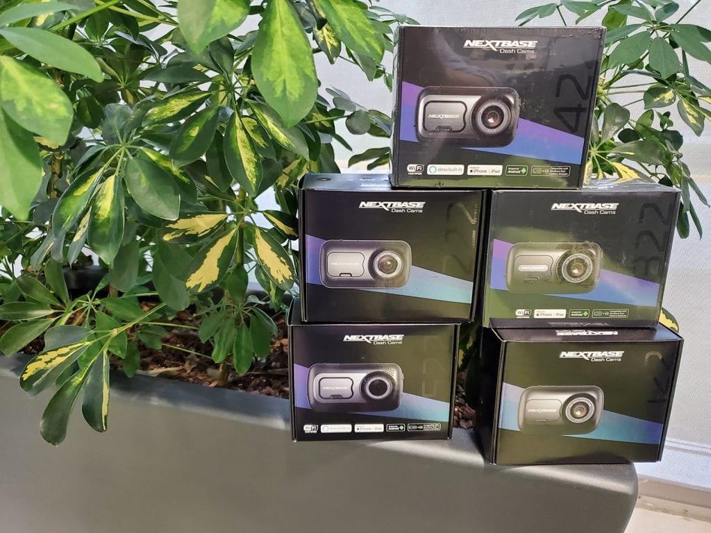 5 caméras de tableau de bord de Nextbase