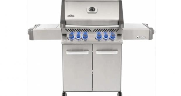 Un Barbecue Au Propane Napoléon Prestige 500