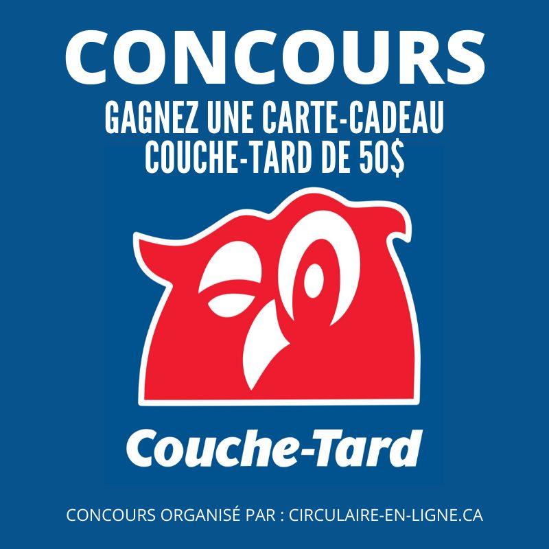Gagnez une Carte-Cadeau Couche-Tard de 50$