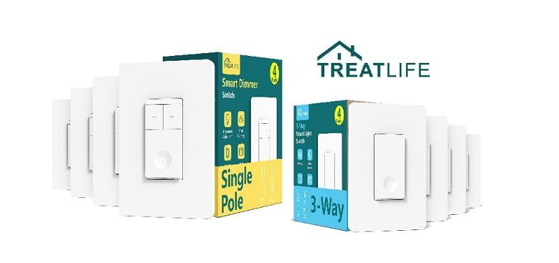 Gagnez Un Kit D'interrupteur Intelligent Treatlife