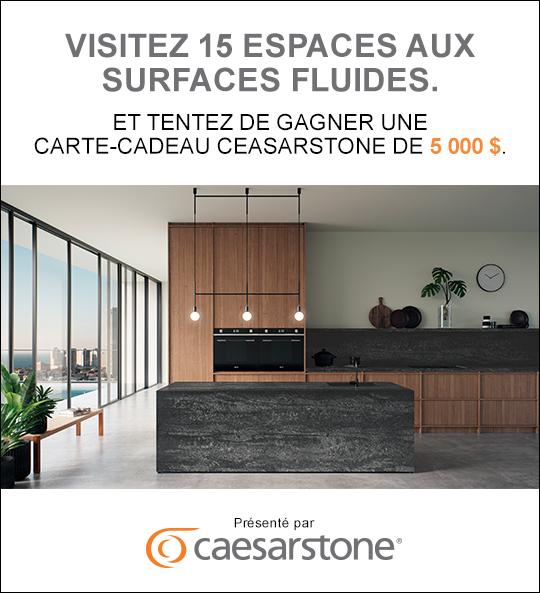 5 000 $ à dépenser chez Caesarstone Canada