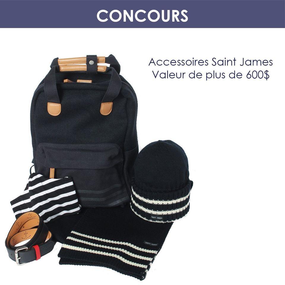 Des Accessoire Saint James D'une Valeur De Plus De 600$