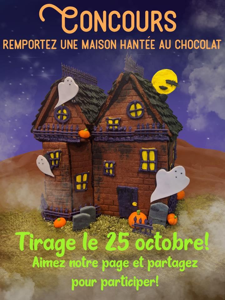 Gagnez Une Maison Hantée En Chocolat