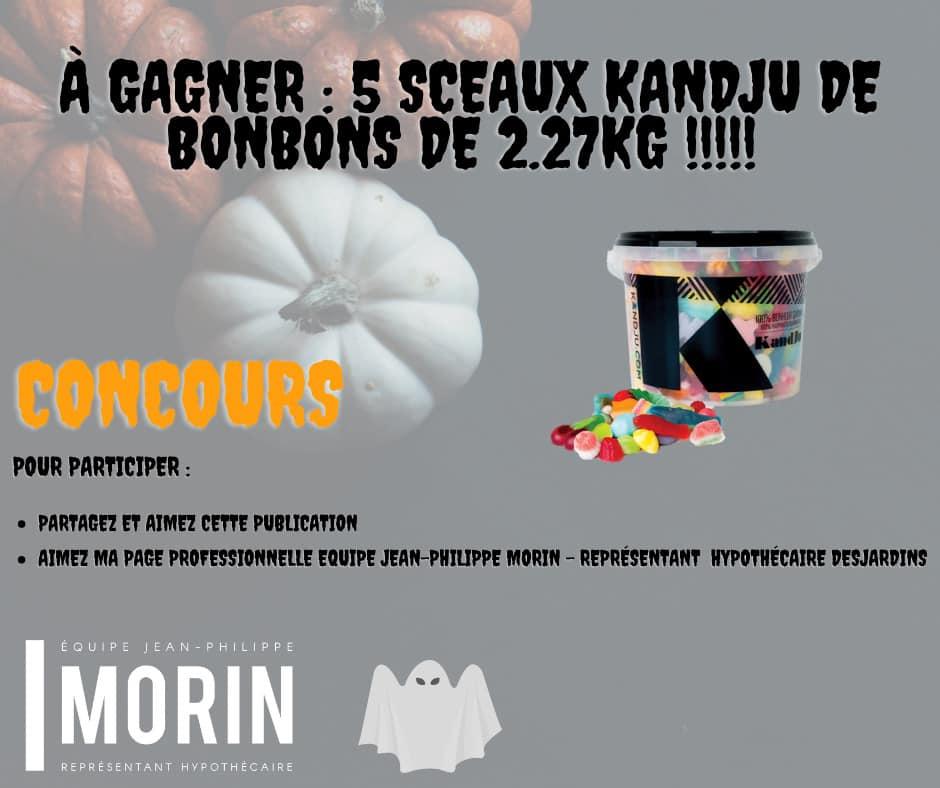 5 Sceaux De Bonbon 2.27 Kg De Kandju