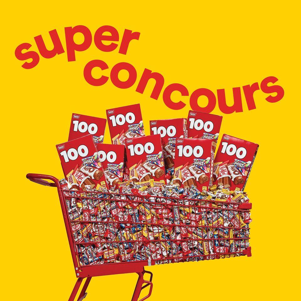 4800 Mini-barres De Chocolat Nestlé