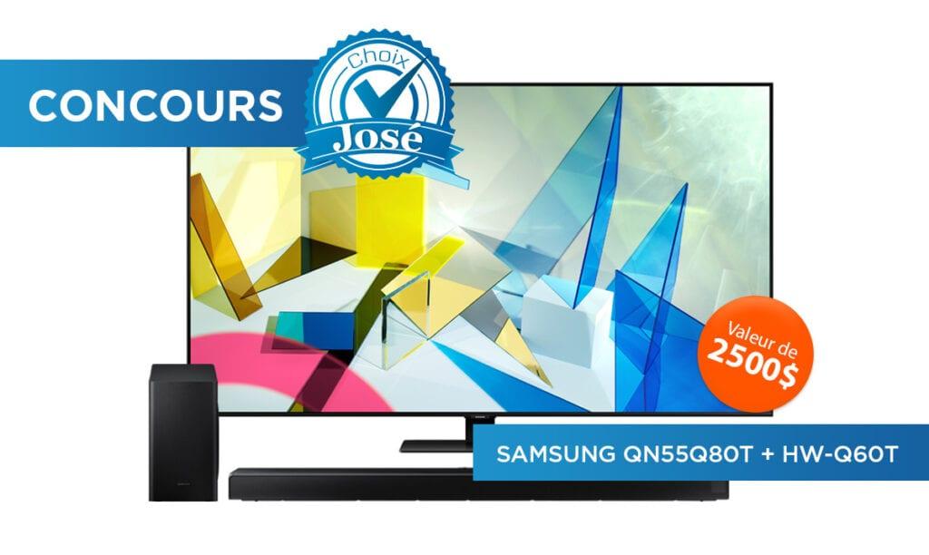 Gagner Un Téléviseur & Une Barre De Son Samsung
