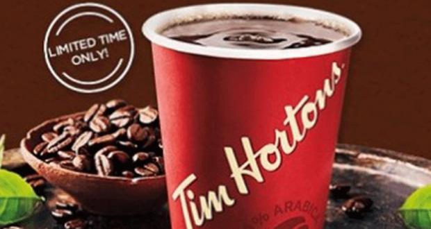 Gagnez 8 millions $ en boissons chaudes Tim Hortons