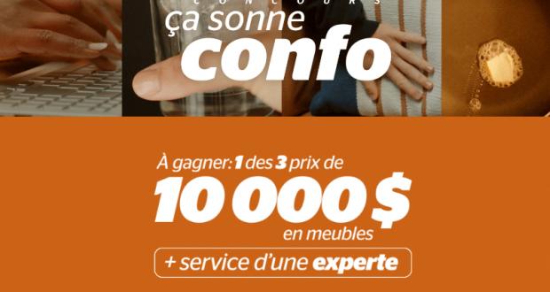 Gagnez L'un Des 3 Grands Prix De 10000$ En Meubles