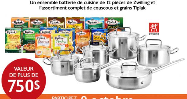 Un Ensemble Batterie De Cuisine De 12 Pièces De Zwilling