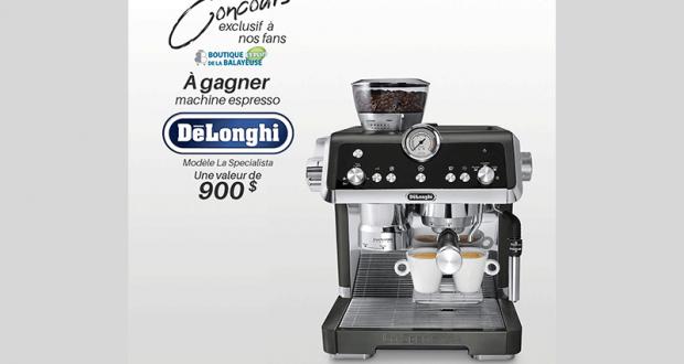 une machine à café espresso De'Longhi