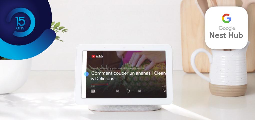 Gagnez un appareil Google Nest Hub
