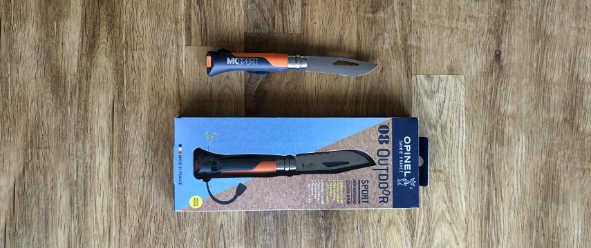 Un couteau Opinel X MKSport