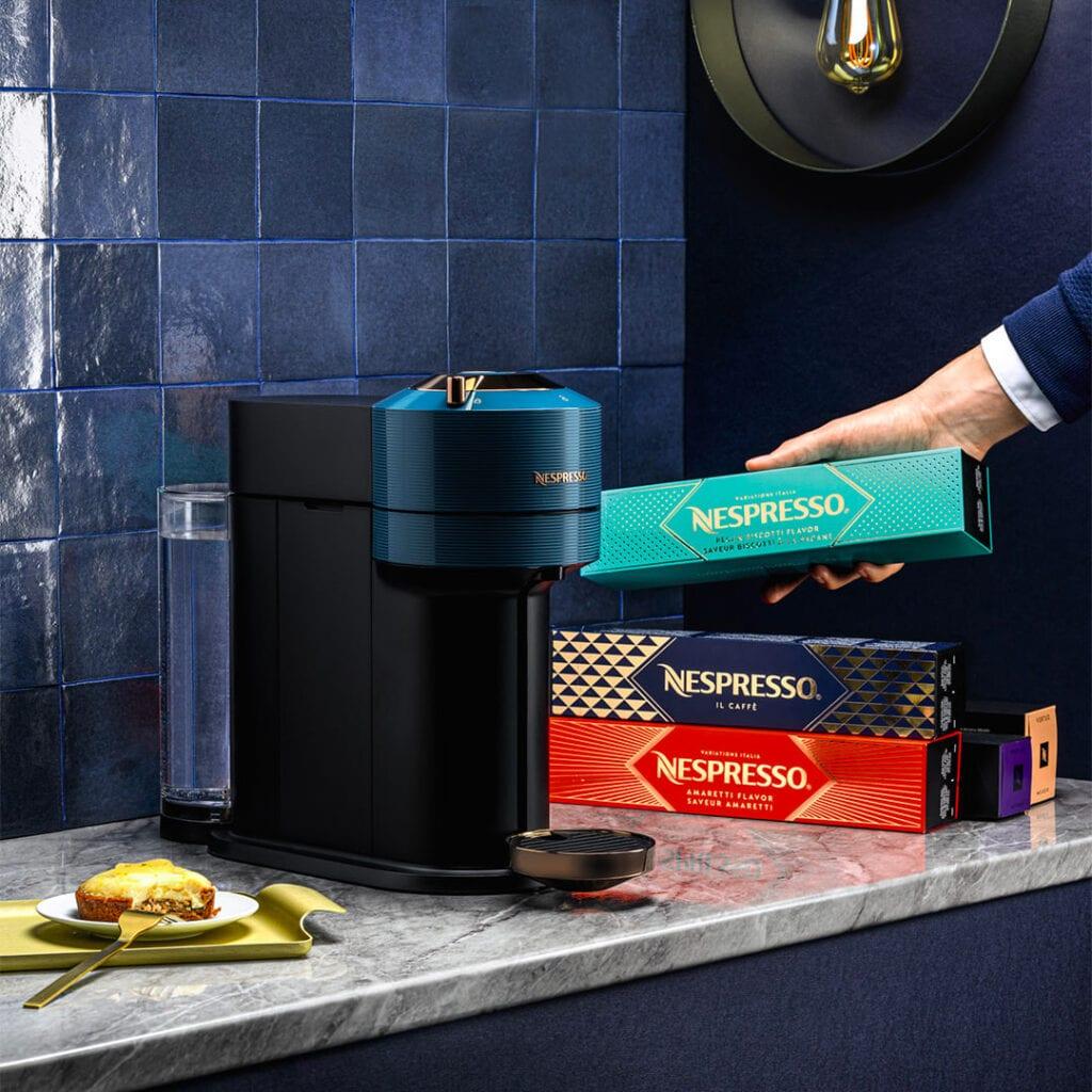 Gagnez l'un des 5 cadeaux signés Nespresso: une machine Vertuo Next