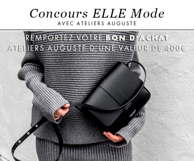 """5 bons d'achat """"Ateliers Auguste"""" (sacs et accessoires) de 400 euros"""