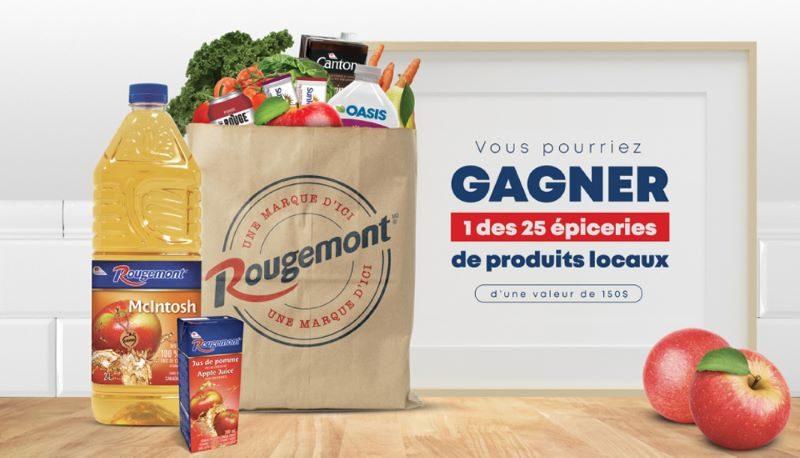 Concours du Québec - GAGNEZ UNE ÉPICERIE DE PRODUITS LOCAUX!