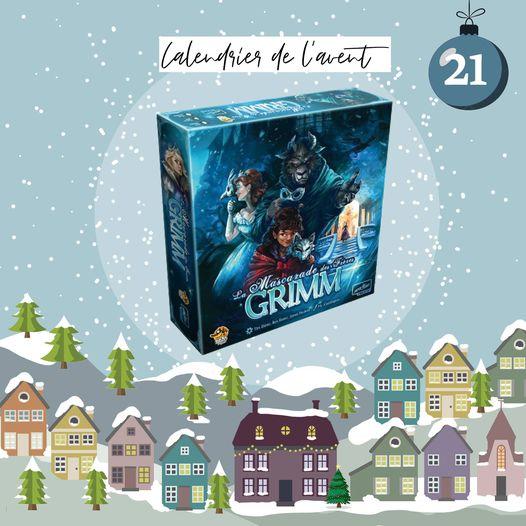 """Gagnez 1 jeu de société """"Mascarade des frères Grimm"""""""