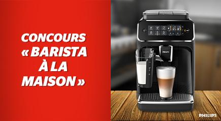 Courez la chance de gagner cette machine à café d'une valeur de 999$.