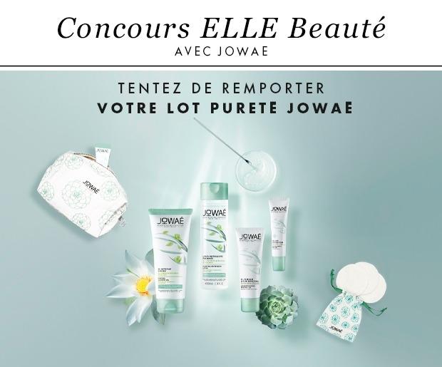 """Gagnez 50 trousses beauté """"Jowaé"""" composés de 4 soins (45 euros)"""