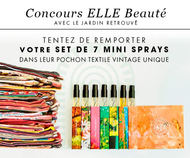 Gagnez 70 sets de 7 mini-parfums dans leur pochon textile