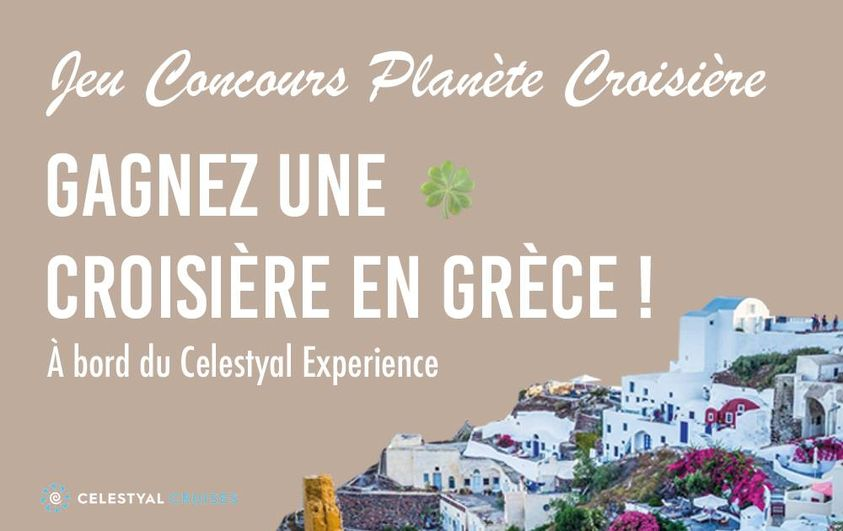 """Gagnez 1 croisière """"Idyllique Mer Egée"""" pour 2 personnes en pension complète au départ du Pirée en Grèce (2638 euros)"""