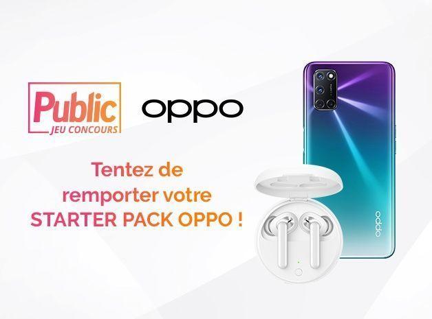 Gagnez 3 lots composés de 1 smartphone Oppo A72 + 1 paire d'écouteurs (310 euros)